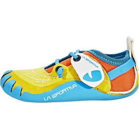 La Sportiva Gripit Chaussons d'escalade Enfant, yellow/flame